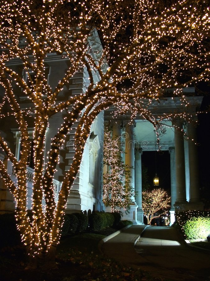 DAR Constitution Hall Christmas royalty free stock images