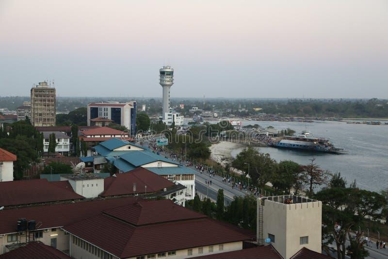 Dar es Salaam royaltyfria foton