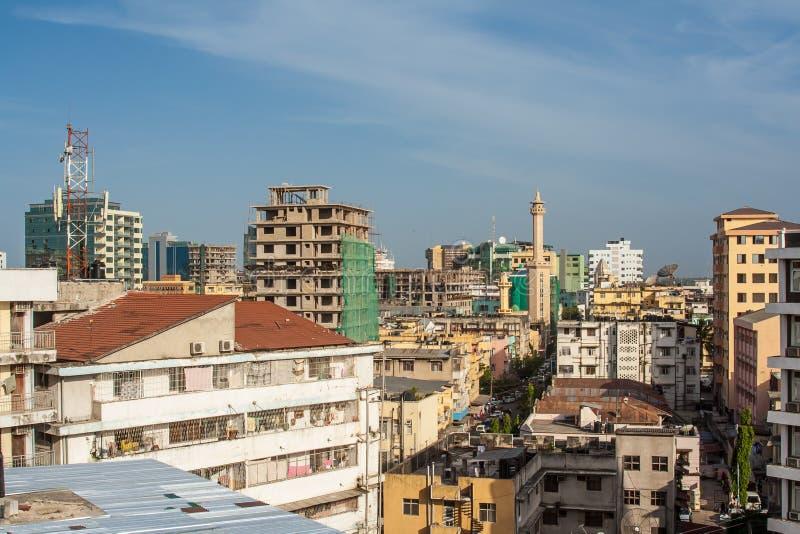 Dar es Salaam City photographie stock