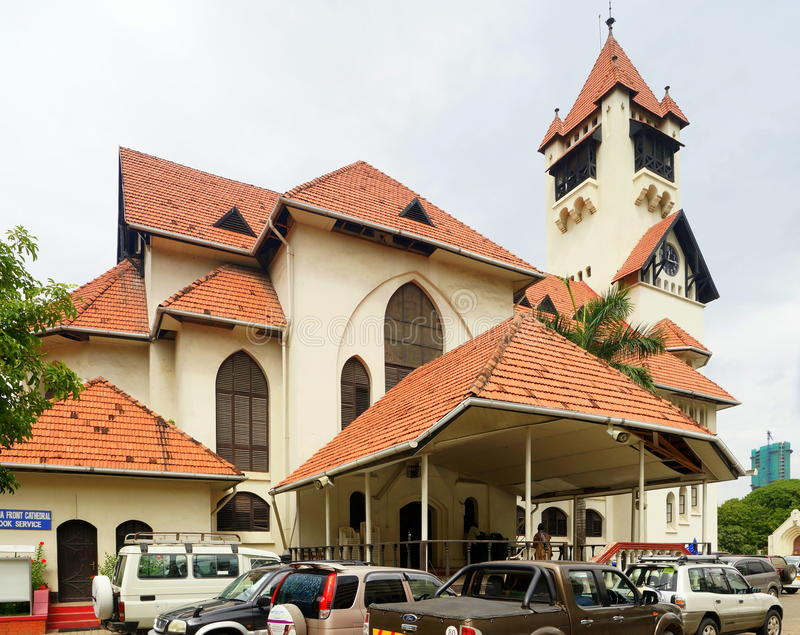Dar es Salaam Lutheran Church imagen de archivo