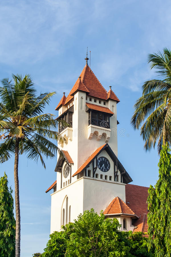 Dar S Salaam Lutheran Church stock foto's