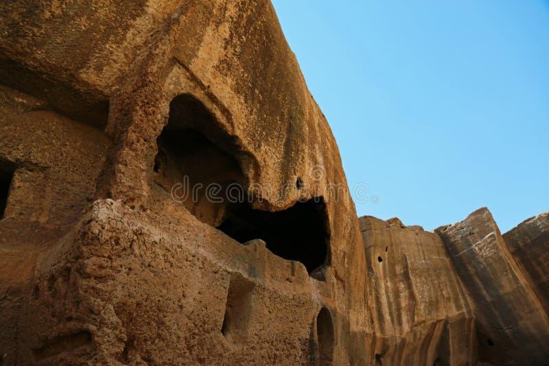 Dara antic city. In Mardin, Turkey stock photo