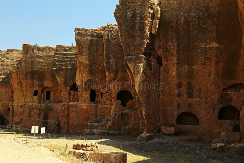Dara antic city. In Mardin, Turkey royalty free stock photos