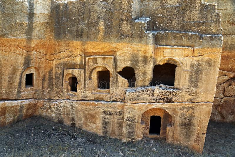 Dara antic city. In Mardin, Turkey royalty free stock photography