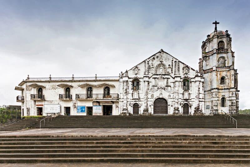 Daraga church. Our Lady of the Gate Parish (Daraga church) in Legazpi, Philippines stock image