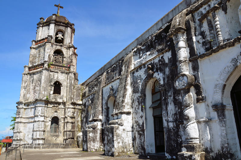 Daraga Church. In the Philippines royalty free stock photo