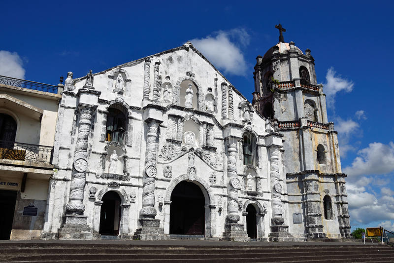 Daraga Church. In the Philippines stock photography