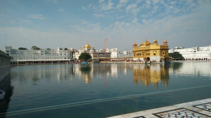 Darbaar sahib gurdwara Amritsar India golden temple. Darbaar sahib gurdwara Amritsar India royalty free stock images