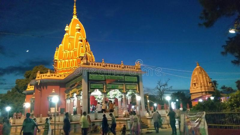 Darbhanga виска Shyama стоковое фото rf