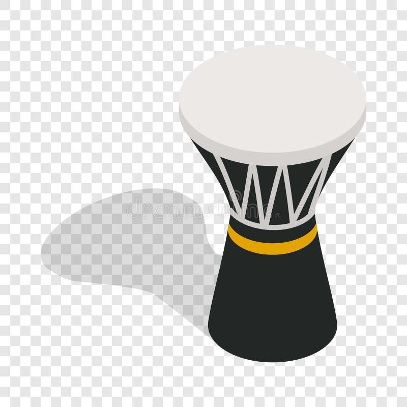 Darbuka, slaand muzikaal isometrisch instrument vector illustratie