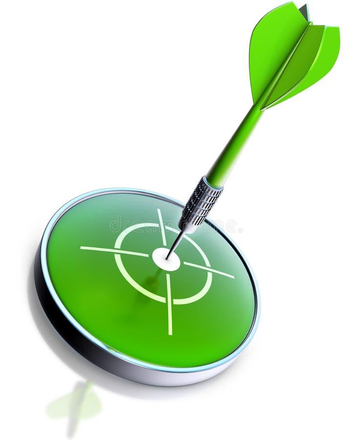 Dard vert photo stock