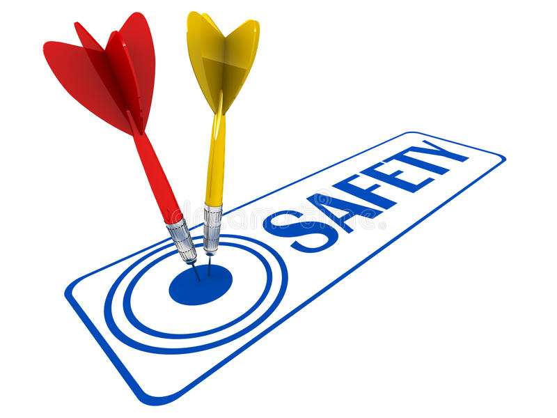 Segurança ilustração stock