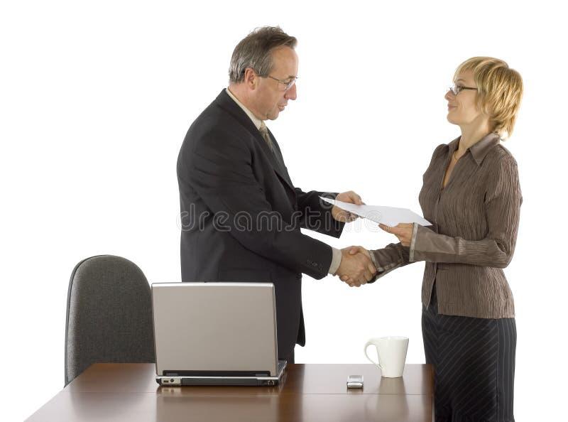 Dare del certificato immagine stock