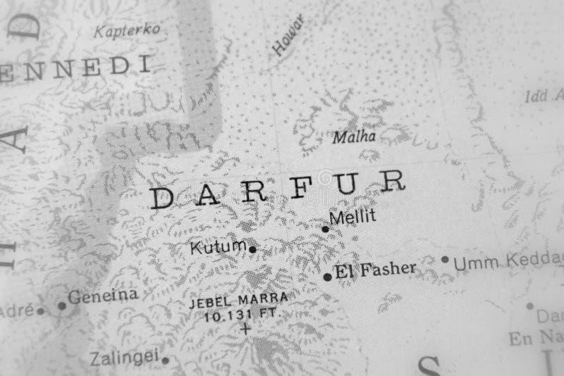 Darfur, region w zachodnim Sudan fotografia stock