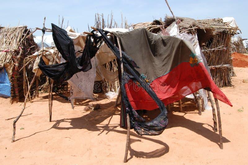 darfur skydd royaltyfria foton