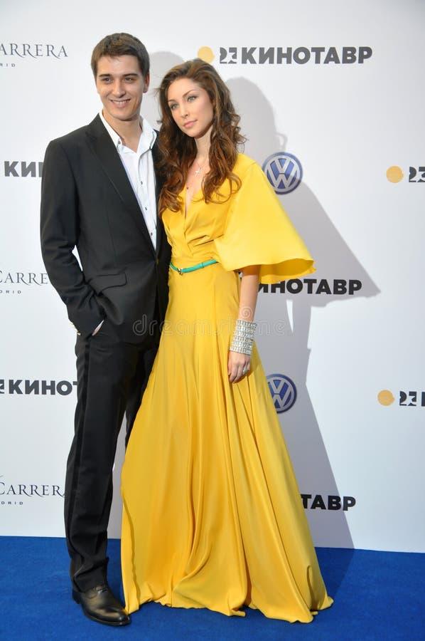 Download Daria Ekamasova With A Partner Editorial Stock Photo - Image: 25125688