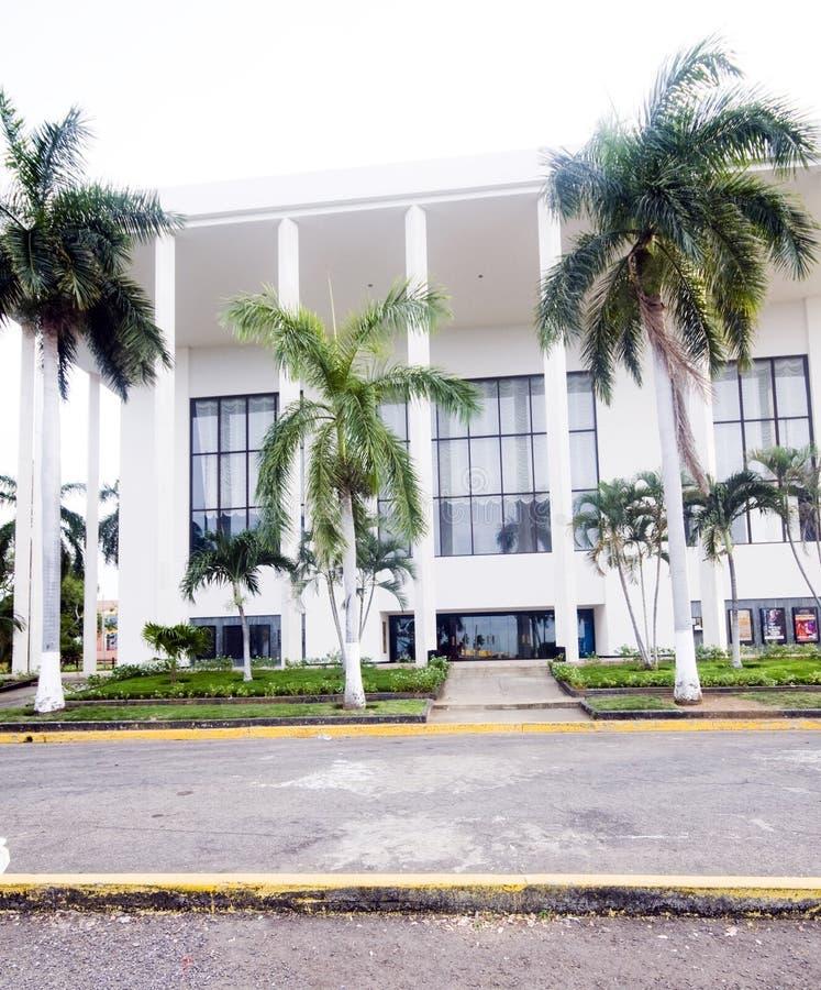 dario Managua krajowy Nicaragua ruben teatr obrazy royalty free