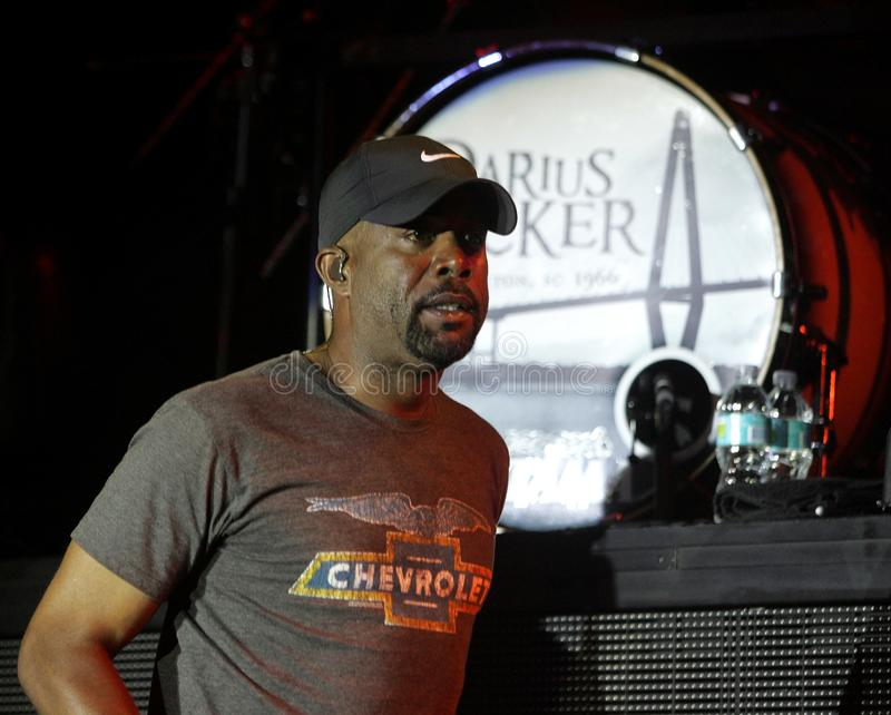 Darius Rucker executa no concerto imagem de stock royalty free