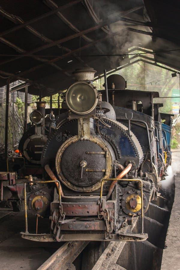 Darjeeling Himalayan Railway or Toy Trainon royalty free stock photos