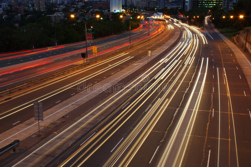 Download After Dark stock photo. Image of motion, luminous, city - 508310