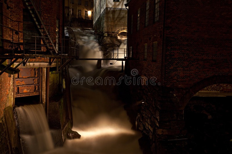 Download Dark abandoned factory stock photo. Image of shadows, filtering - 8518412