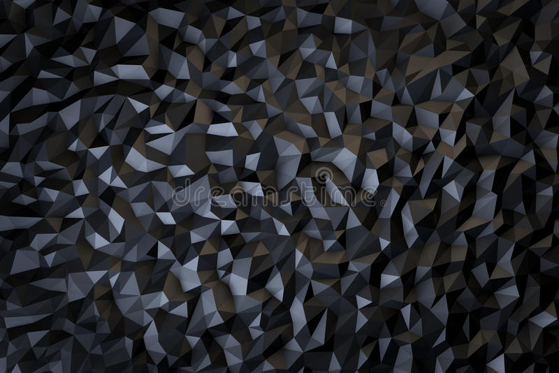 Dark Abstract Background. 3D render of an abstract background royalty free stock photography