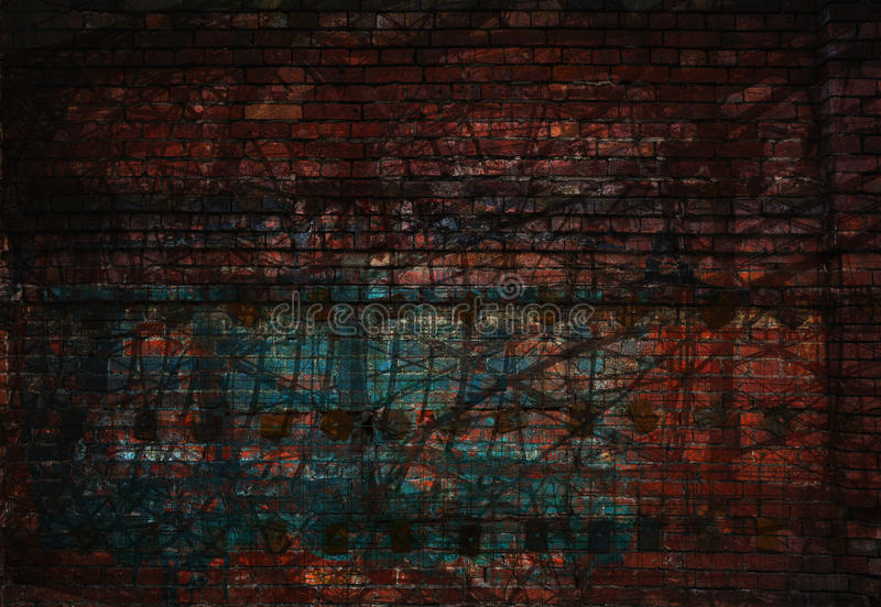 Dark abstract grunge background royalty free stock images