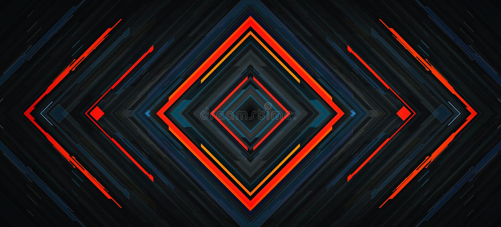 Dark abstract technology background stock photo