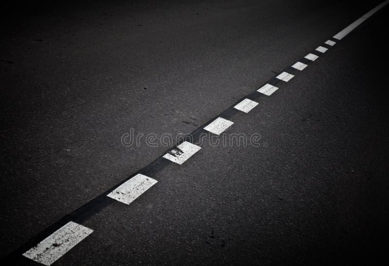 Download Dark Asphalt Road Background With Marking Lines Stock Photo - Image: 26389792