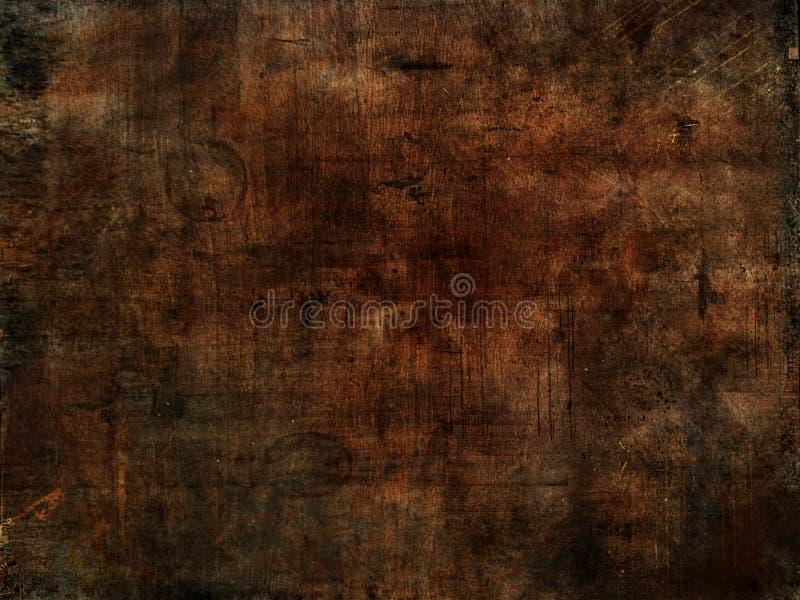 Dark wooden background. Grunge style. stock images