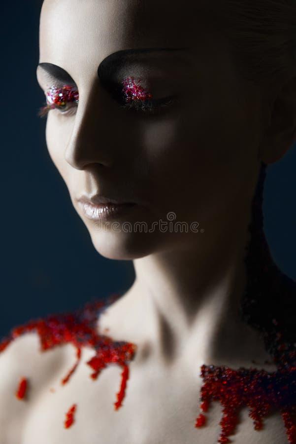 Free Dark Beauty Make-up Stock Photography - 31661712