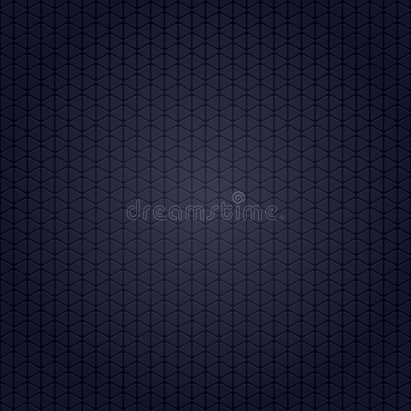 Dark blue background with abstract highlight stock illustration