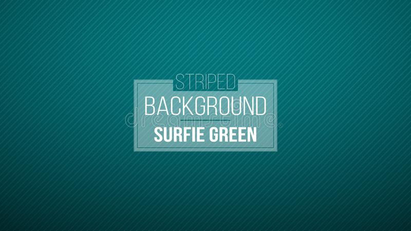 Dark Blue Green striped background. vector illustration. Brand-new pattern for your business design. Colorful background in abstra stock image