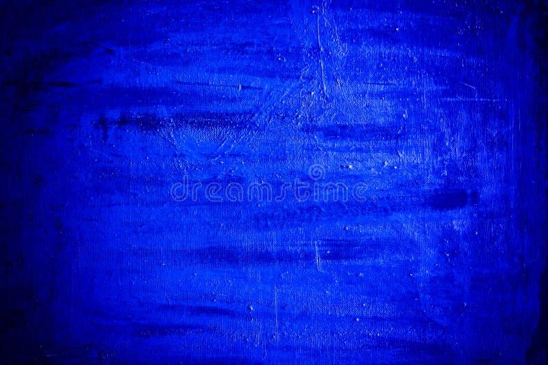 Dark blue grunge texture stock image
