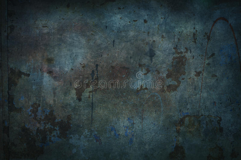 Blue grungy background. Dark blue grungy background or texture stock photos