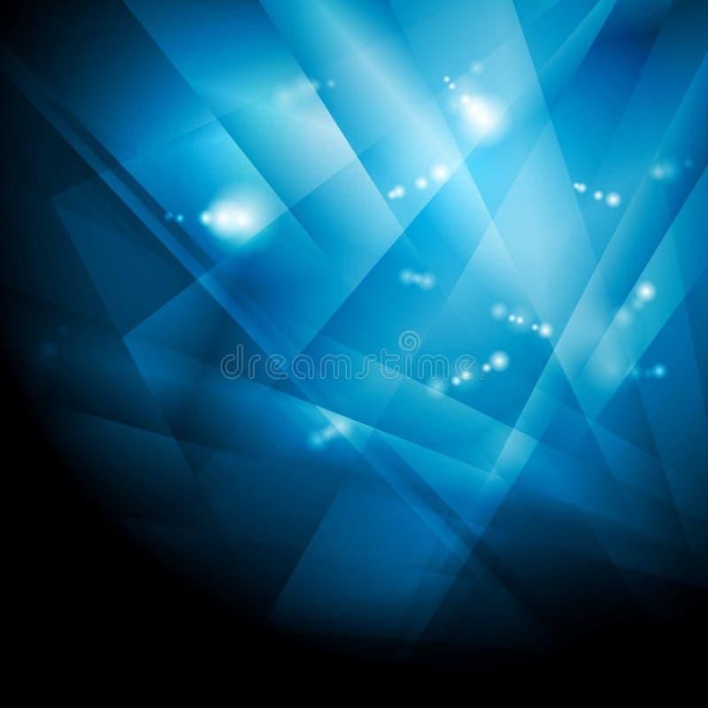 Dark blue shiny technology background vector illustration