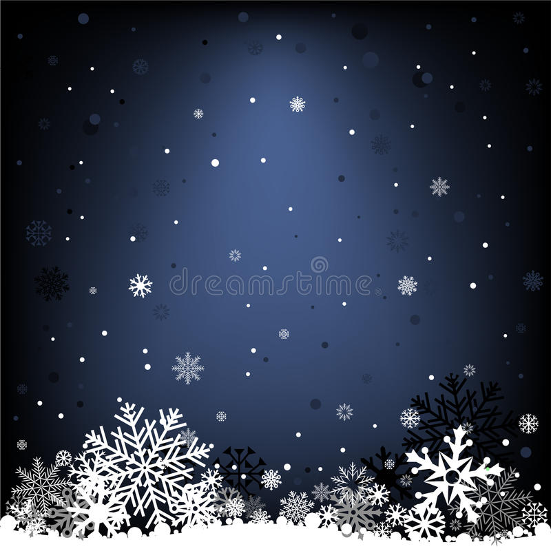 Dark Blue Snow Mesh Background Stock Vector - Illustration ...