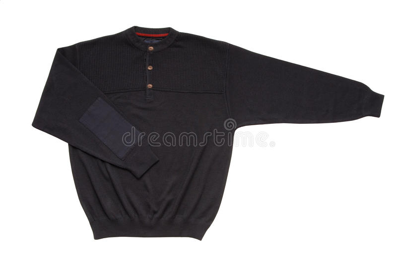 Download Dark blue sweater stock image. Image of neck, jersey - 32727341