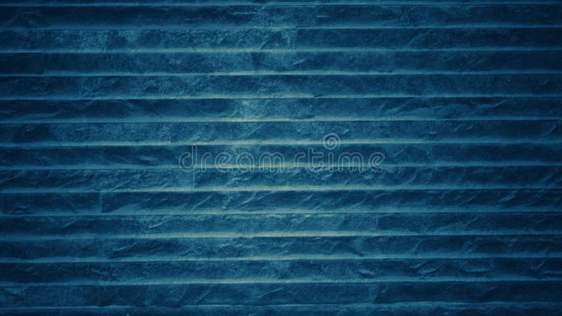 Dark blue tone background with horizontal line pattern. For wallpapers and vintage stock photography