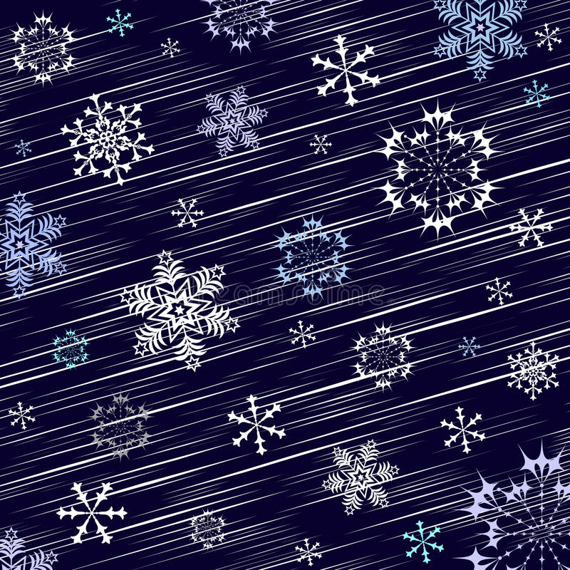 Dark blue winter background royalty free stock photos