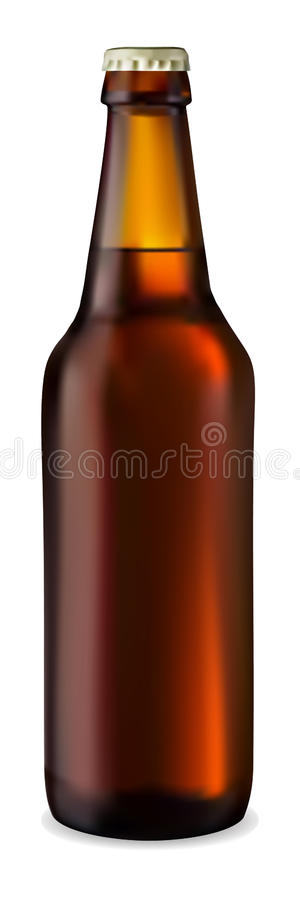 Free Dark Bottle Of Beer Stock Photo - 14315760