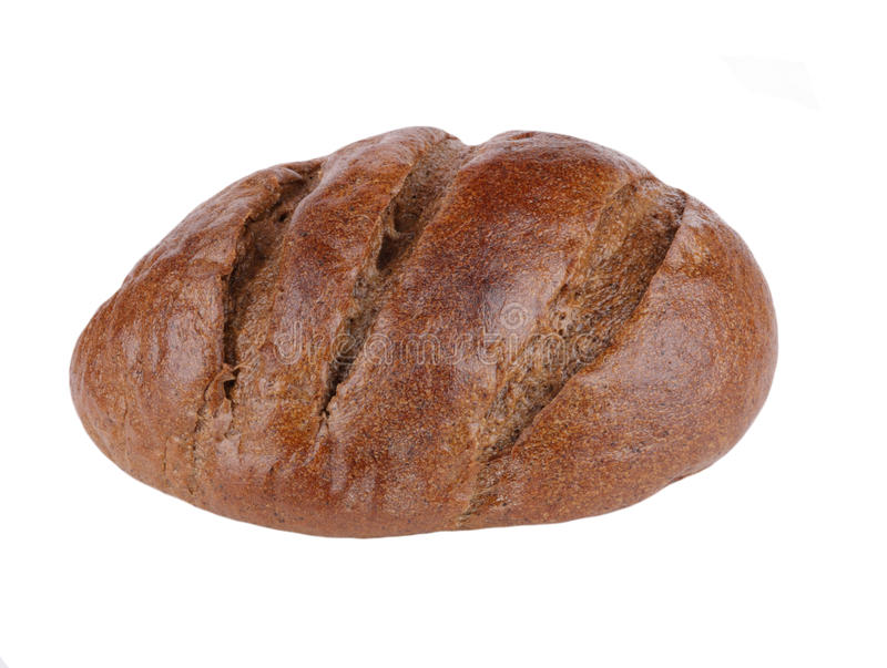 Download Dark bread on isolated stock image. Image of isolated - 12542167