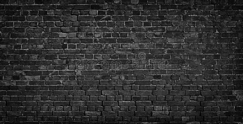 Download Dark Brick Wall As A Backdrop Brickwork Design Element Stock Image