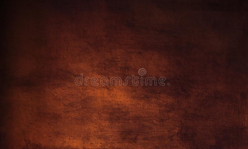 Dark brown background - grunge textured wall for your design. royalty free stock photo