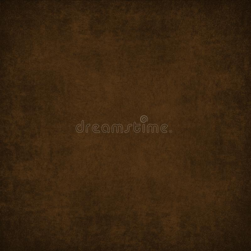 Dark brown background texture royalty free illustration