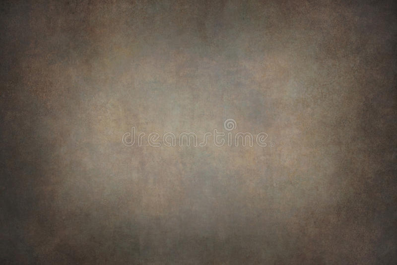 Dark brown canvas hand-painted backdrops.  stock photo