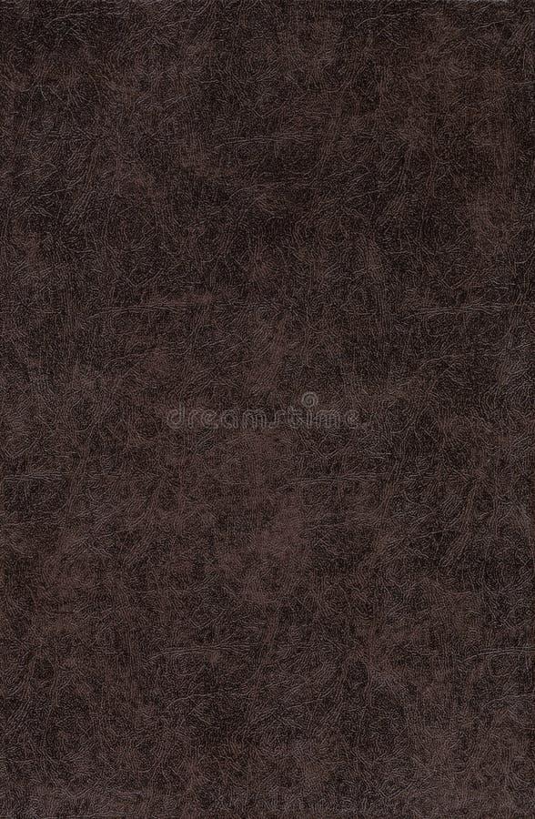 Dark Brown Leather royalty free stock photos
