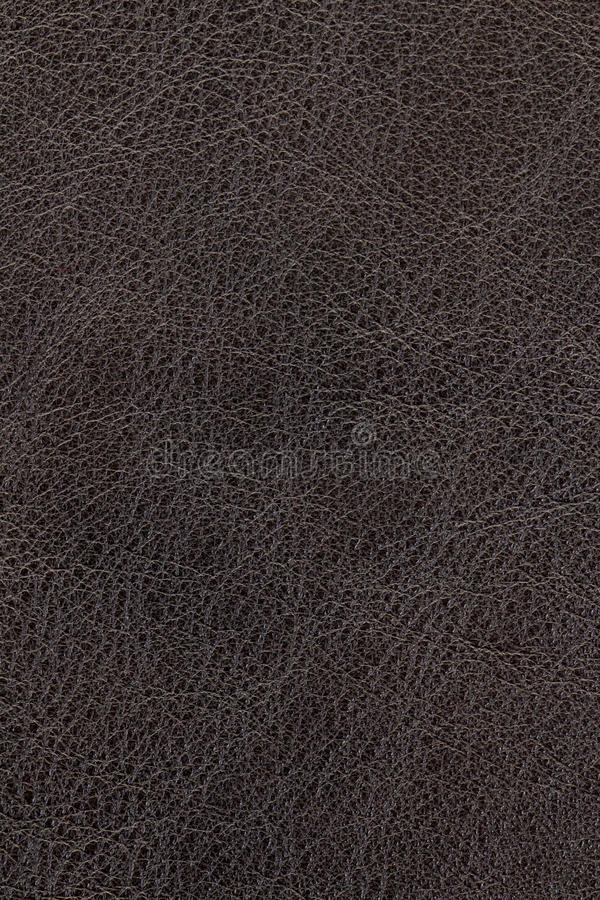 Dark brown leather background royalty free stock photo