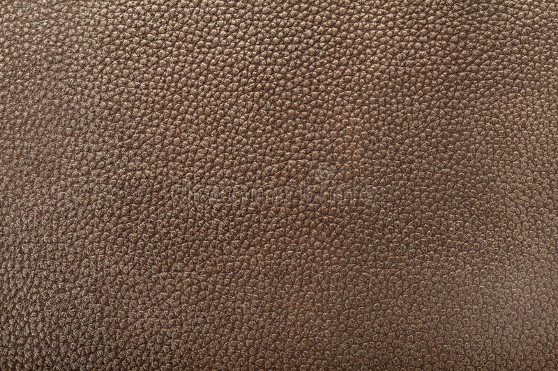 Dark Brown Leather Background Stock Image