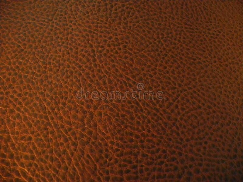 Dark brown leather background texture stock photo
